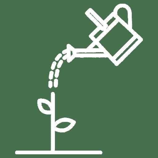 irrigazione bianco