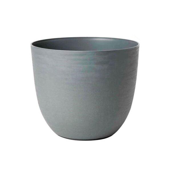 tera vaso tondo grigio 47x58 gardenhouse